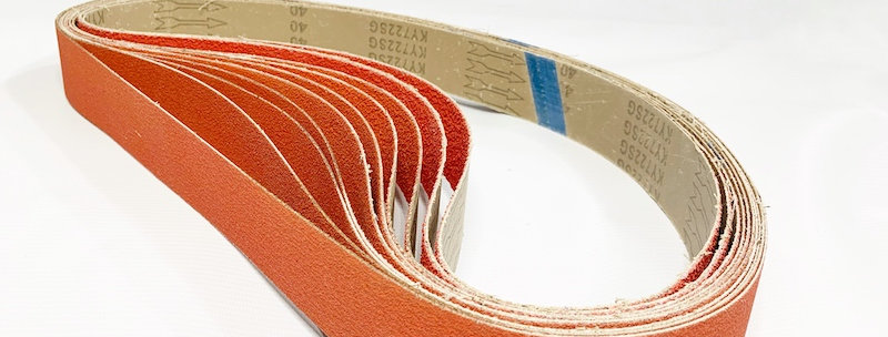 "Set of belts ""Starting 1250 RED DOG"""