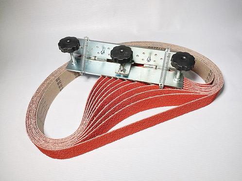 """Set of belts """"P36 1250 RED DOG"""" + Lefthander 300"""
