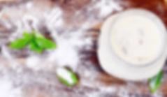 cream and mushroom