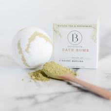 Bath Bomb J'adore Matcha