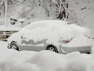 OMG...IT SNOWED HERE FRIDAY!
