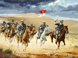 THE CAVALRY RIDES...WE HOPE