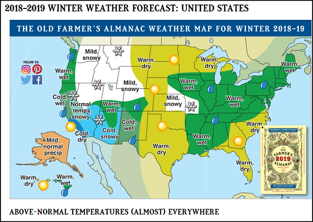 WINTER ON THE ALMANACS     | Terry Swails | Midwest Weather