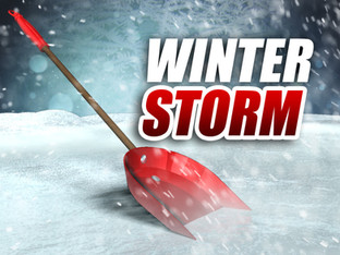 IT'S SHOWTIME FOR THE WINTER STORM...