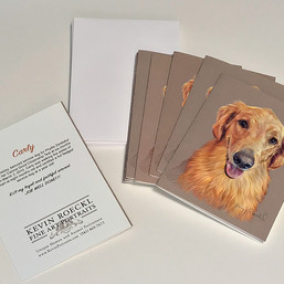 Carly portrait - Custom Notecards