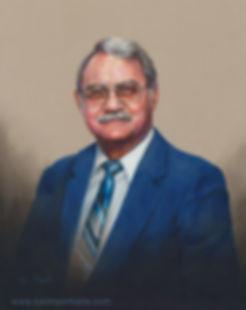 Head study portrait of a man