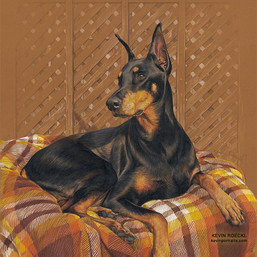 Louie portrait finished!