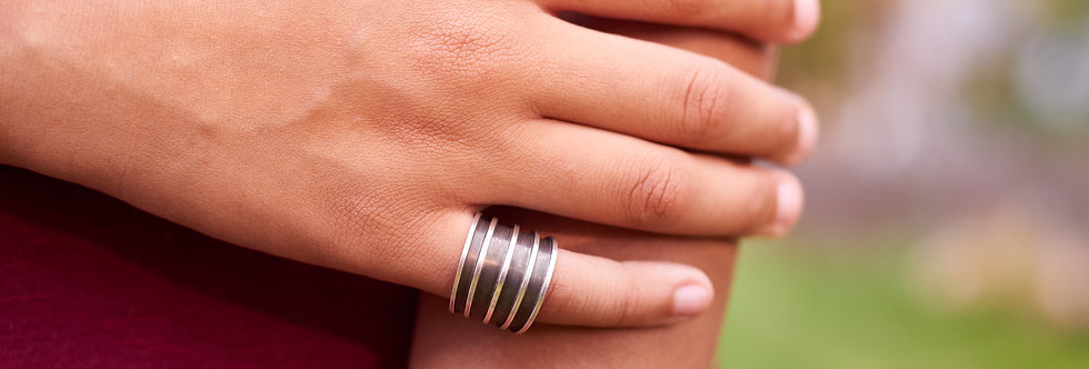 Oxidized Tapered Band