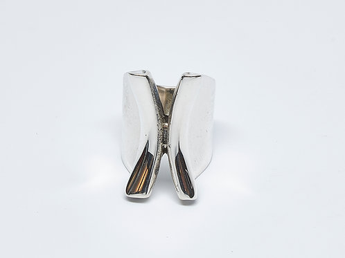 Wide Folded Ring