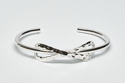 Textured Infinity Cuff