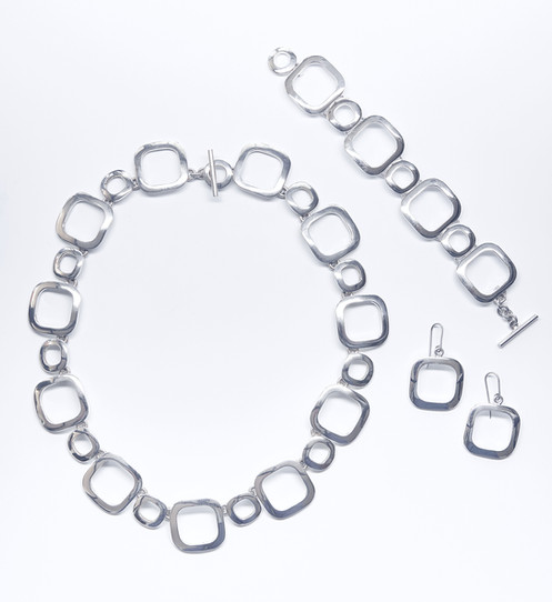 Circle and Square Link Set
