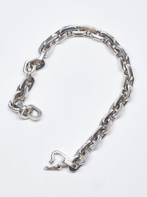 """7.5"""" Rectangle Link Bracelet"""