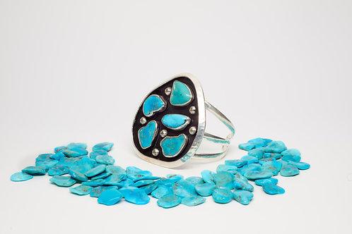Sleeping Beauty Turquoise Cuff