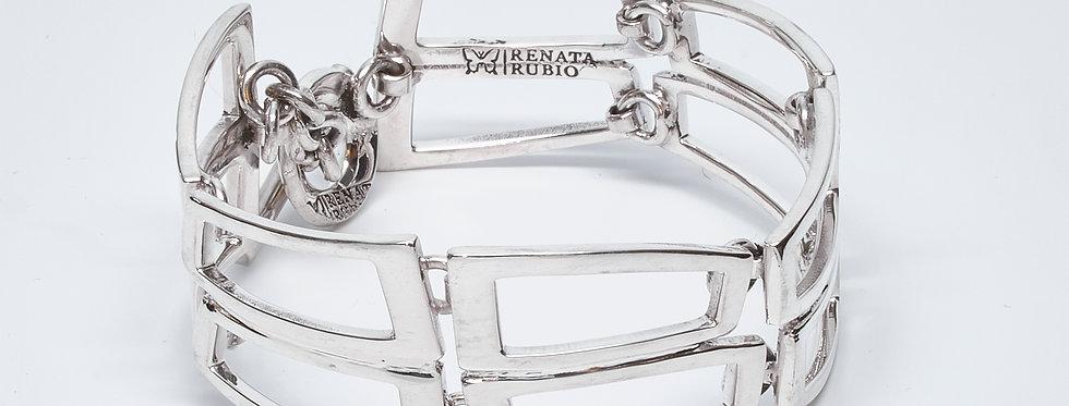 Open Rectangle Bracelet