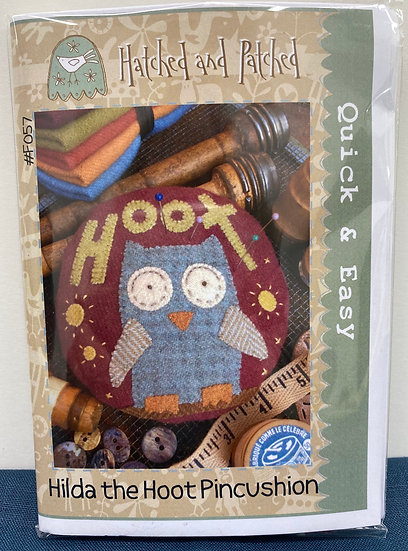 "Pincushion Kit ""Hilda the Hoot"""