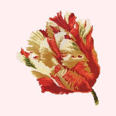 """Tapestry kit """"Parrot Tulip"""" Elizabeth Bradley"""