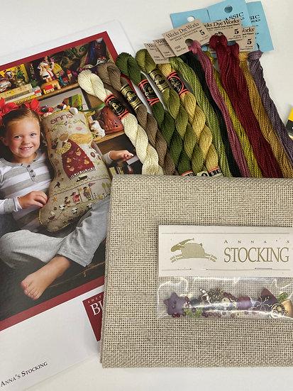"Stocking ""Anna"" Shepherds Bush"