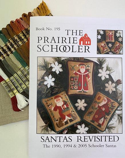 Santa's Revisited Cross Stich Kit