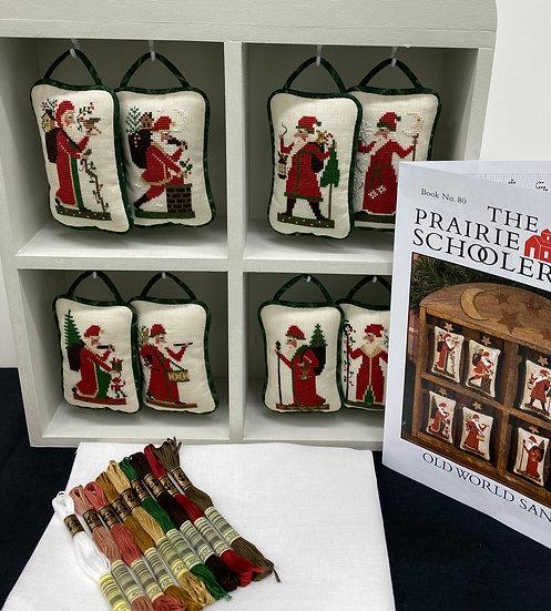 "Old World Santa "" The Prairie Schooler"" Kit"