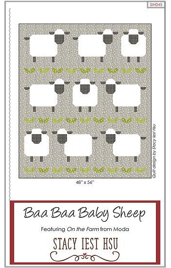 """Quilt Kit """"Baa Baa Baby Sheep"""""""