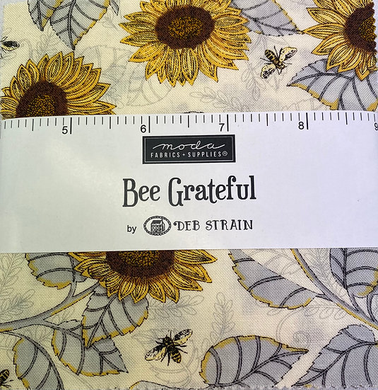"Charm Squares ""Bee Grateful"""