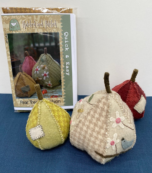 Pincushion Pear Tree Kit