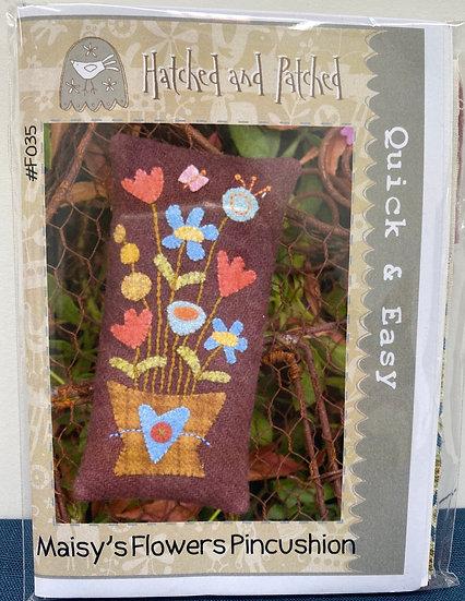 "Pincushion Kit ""Maisy's Flowers"""