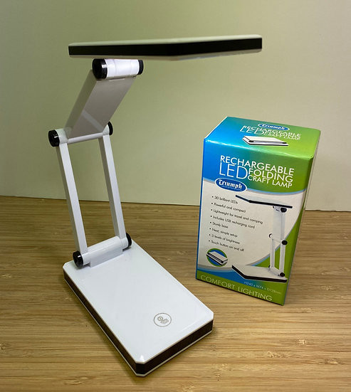 Rechargeable LED folding craft light