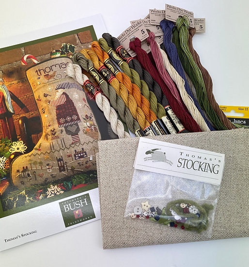 """Thomas"" Stocking Kit, Shepherd's Bush"
