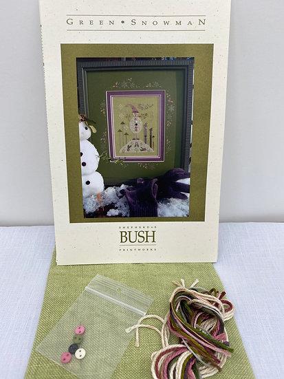 Green Snowman Kit Shepherds Bush