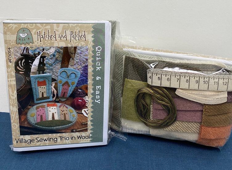 Village sewing trio kit