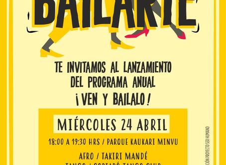 Este miércoles comienza Bailarte en el parque Kaukari Minvu
