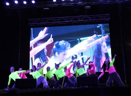 Aplaudida presentación de elenco Esarte danza en Festival de la Primavera