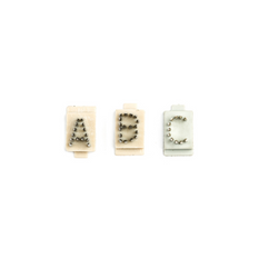"""Tattoo Letters A-Z (3.8"""")"""