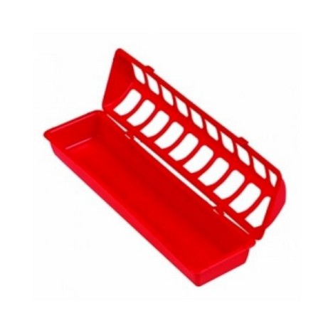 Oval Feeder (poultry)