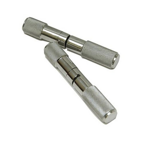 Horn Wire Saw Handle Pair