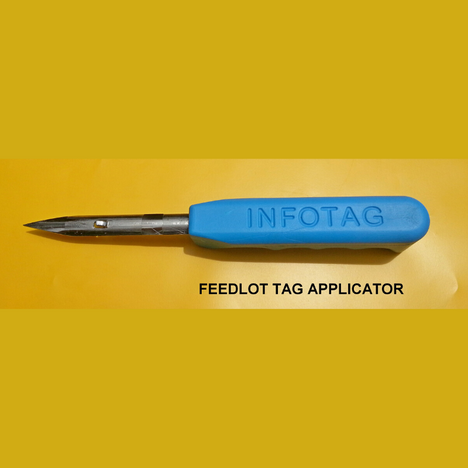 Feedlot Tag Applicator