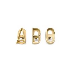 Branding Letters A-Z
