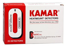 Kamar Heat Detectors 25's - blue/red