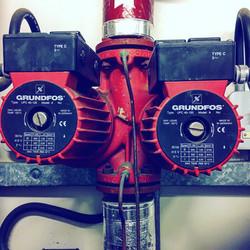 pump insterlation