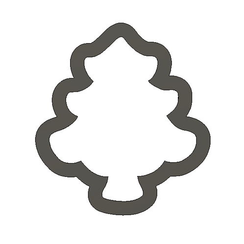 """2"""" Christmas Tree Cookie Cutter"""