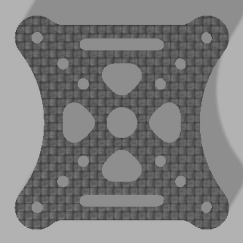 OpenRacer Bottom Plate - 2.5mm