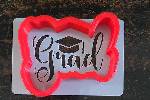 "2-1/2"" x 3"" Grad Stencil"