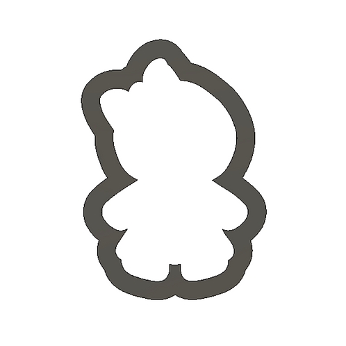 "2""Gingerbread Girl Cookie Cutter"