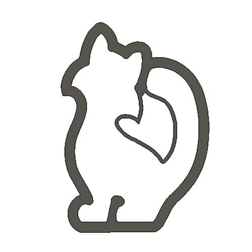 """3-1/2"""" x 2-1/4"""" Cat Cutter"""