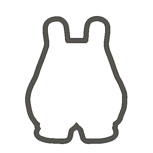 "3-1/2"" x 2.70"" Bunny Cutter"