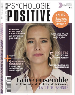 Subliminence dans le magazine Psychologie Positive !