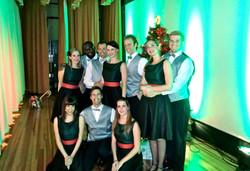 Christmas Cheer Cabaret cast