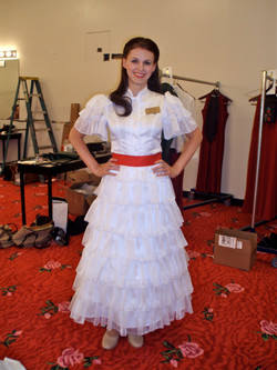 Gone with the Wind cocktail outfit