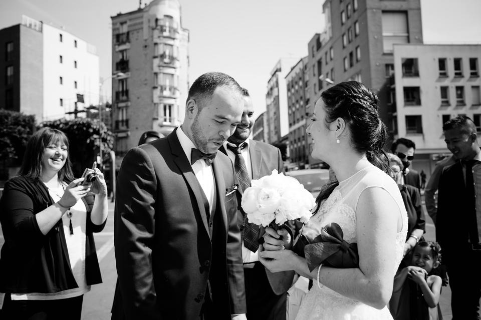 Photo mariage Montreuil rencontre des mariés